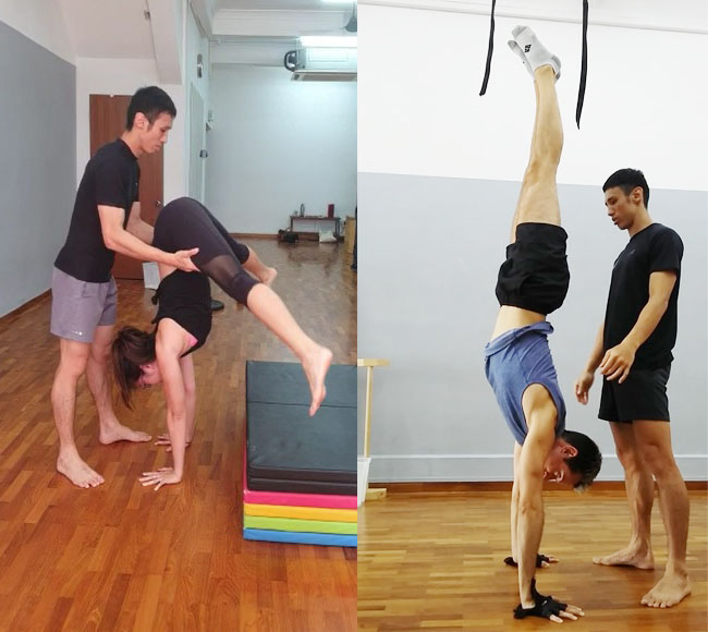 MOVE Beginner Handstands